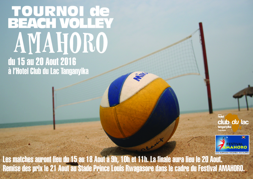 Tournoi de Beach Volley Amahoro