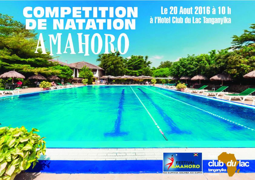 Competition de natation Amahoro