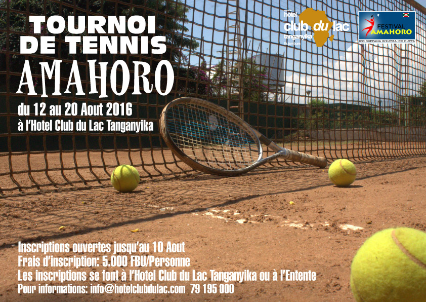 Tennis Tournament Amahoro