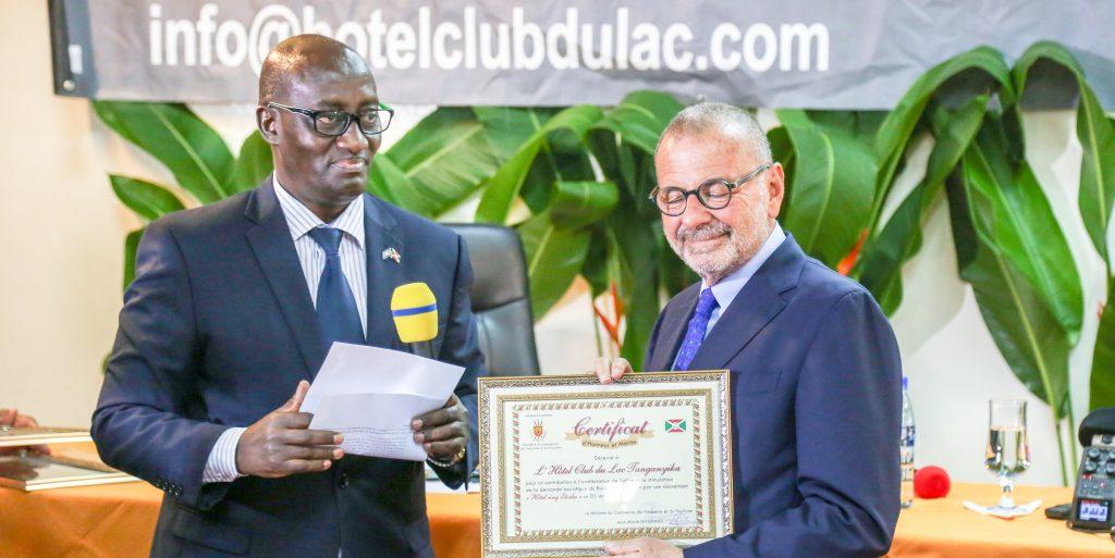 Hotel Club Lake Tanganyika ottiene 5 stelle