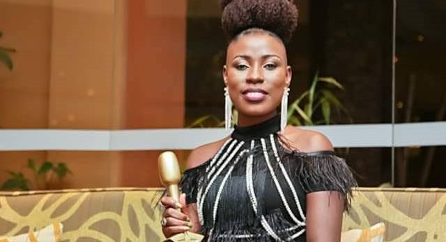 "NATACHA vince il premio ""African Fans for New Talent Award"" agli Hipipo Awards 2019 a Kampala"